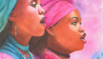 Aquarelle Eliane Giraudel, Soweto gospel choir