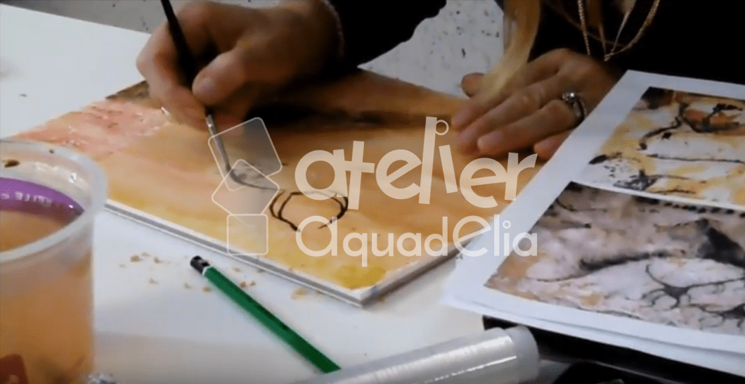 Video aquarelle, Cromagnon