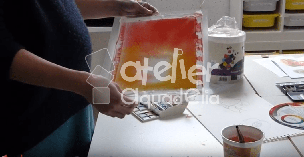 Video aquarelle, Histoire de fruits