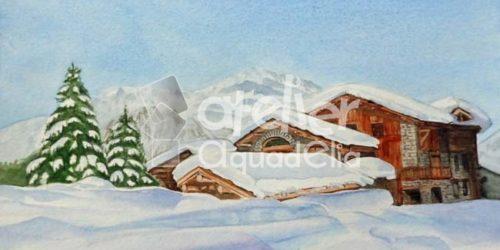 Aquarelle_adultes_paysage-de-neige_6