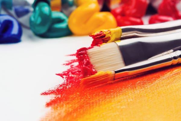 Peinture et couleurs, cours arts plastiques adultes, Atelier Aquadelia